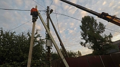 строительство воздушной линии электропередач
